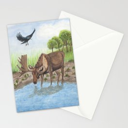 Stuck in the Muck Stationery Cards