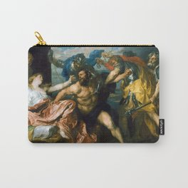 Samson and Delilah by Anthony van Dyck (1630) Carry-All Pouch
