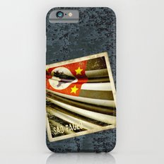 Sticker of Brazil (San Paulo) flag Slim Case iPhone 6s
