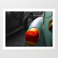 volkswagen Art Prints featuring Volkswagen by habish