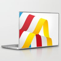 flag Laptop & iPad Skins featuring Flag by Kexit guys