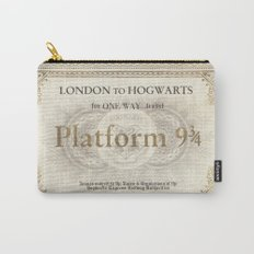 Platform 9 3/4 ticket Carry-All Pouch