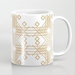 Geometric Abstract Retro 1980s Art Deco Design Coffee Mug