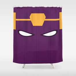 Baron Helmut Zemo Mask Shower Curtain