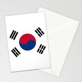 South Korean Flag Stationery Cards