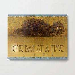 ODAT Oaks by the Lake Metal Print