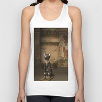 egypt Tank Tops featuring Egypt temple  by nicky2342