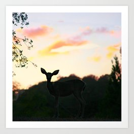 Deerest Art Print