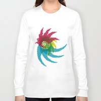 parrot Long Sleeve T-shirts featuring PARROT by Atahan Atalay