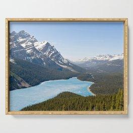 Peyto Lake - Banff NP, Canada Serving Tray