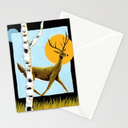 Through Night to Day Stationery Cards
