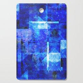 Sapphire Nebulæ Cutting Board