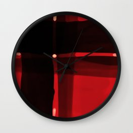Hypnotzd Abstract 22 Wall Clock