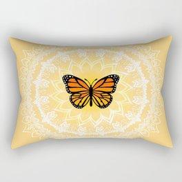 Monarch Mandala Rectangular Pillow
