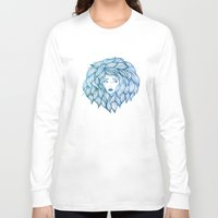 hair Long Sleeve T-shirts featuring Hair by Lauren Draghetti