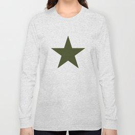 Vintage U.S. Military Star Long Sleeve T-shirt