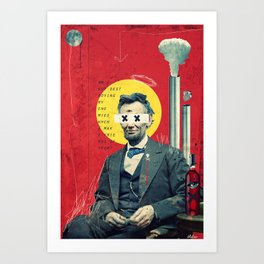 Linkin' Art Print