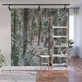 Palm Trees in the Green Swamp Wall Mural