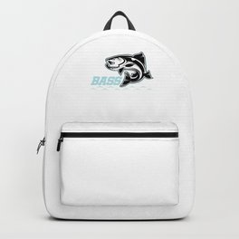 Awesome Fisherman All About That Bass Fisher Backpack
