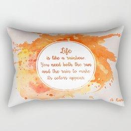 A. Ramaiya's quote Rectangular Pillow