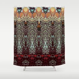 """""""DARKNESS IS YOUR CANDLE"""" Shower Curtain"""