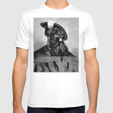Hypertrichosis MEDIUM Mens Fitted Tee White