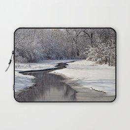 A quiet walk  Laptop Sleeve