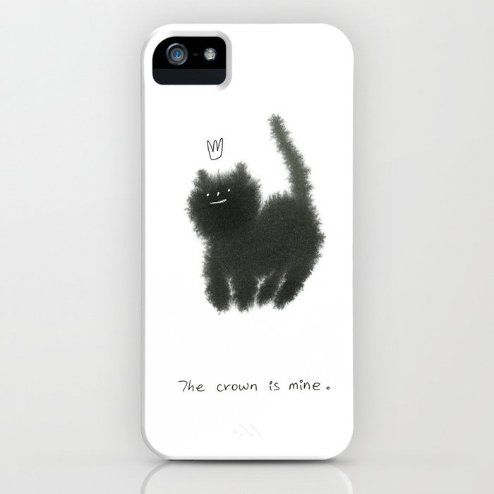 The crown is mine  iPhone Case by ahnnalim