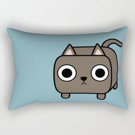 Cat Loaf - Brown Kitty Rectangular Pillow