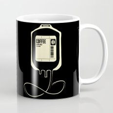 Coffee Transfusion - Black Mug