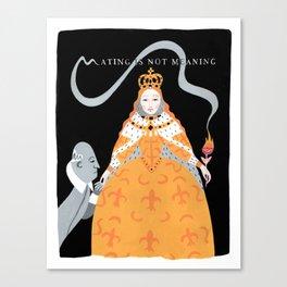 Queen Elizabeth I Canvas Print