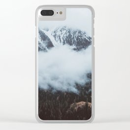 On a cloudy day - Landscape and Nature Photography Clear iPhone Case