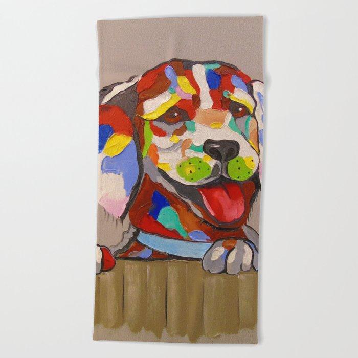 Dog Beach Towel
