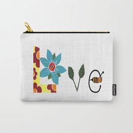 Bee Love Carry-All Pouch