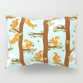 squirrel party Pillow Sham