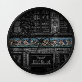 Eleventh Commandment Wall Clock