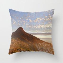 Sea Point, Cape Town Throw Pillow