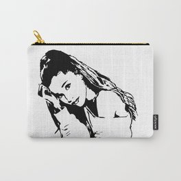 PORTRAIT 0F AN AMERICAN FEMALE POP STAR,ACTRESS AND SONGWRITER Carry-All Pouch