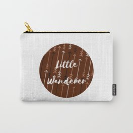 Won't You Wander Back to Me? (Coffee & Cream) Carry-All Pouch
