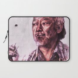 Mr. Miyagi from Karate Kid Laptop Sleeve