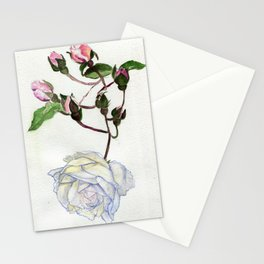 Even Icebergs Have Buds Stationery Cards