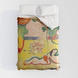 Henri Matisse - Le bonheur de Vivre (The Joy of Life) portrait painting Comforters