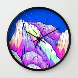 The vibrant Peak Wall Clock