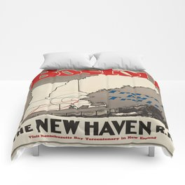 Vintage poster - Boston Comforters