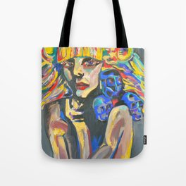 Deathly Beauty Tote Bag