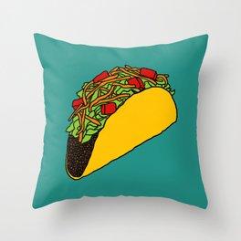 Flock of Gerrys - Taco Throw Pillow
