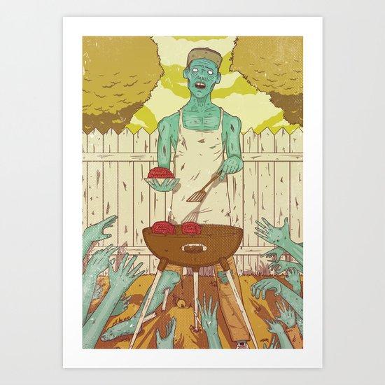 It's sunday Art Print