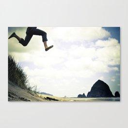 jump. Canvas Print
