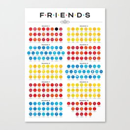 Tribute to Friends Canvas Print