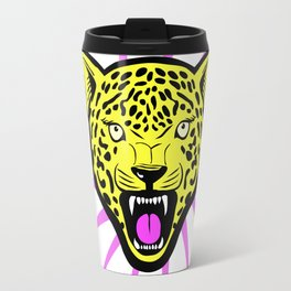 Wild Rockstar Jaguar Travel Mug